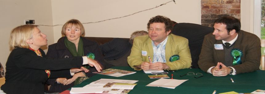 Agricultural Discussion with Natalie Bennett and Parliamentary Candidates